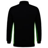 Polosweater Tricorp Bicolor borstzak Navy-Lime_