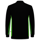 Polosweater Tricorp Bicolor Black-Lime_