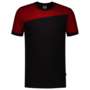 T-shirt Tricorp Donkergrijs/Rood