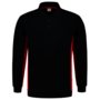 Polosweater Tricorp Bicolor borstzak Navy-Red