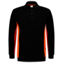 Polosweater Tricorp Bicolor Black-Orange