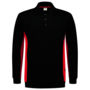 Polosweater Tricorp Bicolor Black-Red