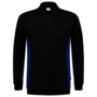 Polosweater Tricorp bicolor Navy-Royalblue