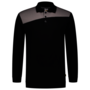 Polosweater Tricorp Bicolor Naden Black-Grey