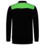 Polosweater Tricorp Bicolor Naden Black-Lime