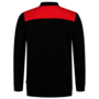 Polosweater Tricorp Bicolor Naden Black-Red