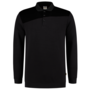Polosweater Tricorp Bicolor Naden D.Grey-Black