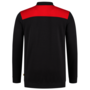 Polosweater Tricorp Bicolor Naden D.Grey-Red