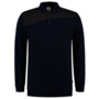 Polosweater Tricorp Bicolor Naden Ink-D.Grey