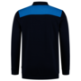 Polosweater Tricorp Bicolor Naden Ink-Turquoise
