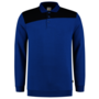 Polosweater Tricorp Bicolor Naden Royalblue-Navy