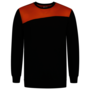 Sweater Tricorp Bicolor Naden Black-Orange
