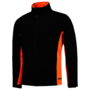 Softshell Tricorp Bicolor Black-Orange
