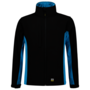 Softshell Tricorp Bicolor Black-Turquoise