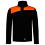 Softshell Bicolor Naden Black-Orange